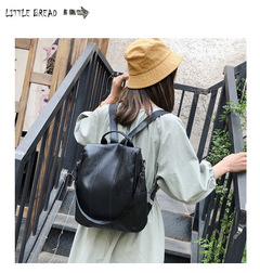 Fashionable waterproof and anti-theft Backpack black one size