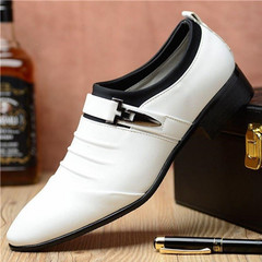 New casual foot business dress shoes for summer 2019 white 6.5