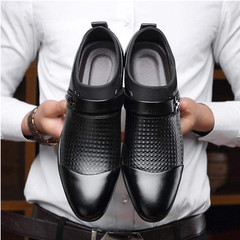 New casual business shoes for formal wear in spring 2019 black 6.5