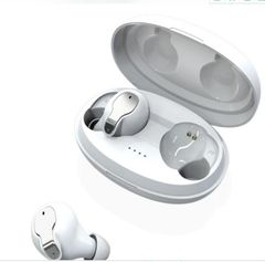 120H Standby Bluetooth Earphones Headset Hifi Stereo Sound Deep Good Bass Airpod for Android iPhones white