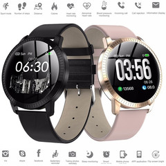 Smart Watch Bracelet Activity Tracker with Steps Counting Motion Sleep Heart Rate Monitoring black