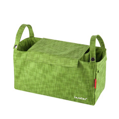 Bag For Diaper Stroller Organizer Baby Bag For Hang Carriage 8037# Jade 34x14x18cm