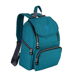 Mother Backpack Diaper Maternity Backpacks Nursing Outdoor 10052# Turquoise 26*12.5*30cm