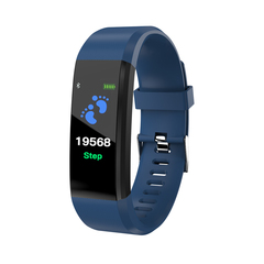 Smart watches Sport Bracelet Heart Rate Monitor Wristband Fitness Bracelet for Android easy charge black
