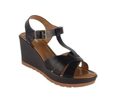 3364ec9db3bf BATA Platform Ladies Shoes - 771-6115 - Black black 7 267005 ...