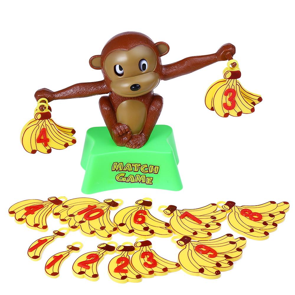 Monkey Balance Educational Toy Math Addition Subtraction Match Game ...