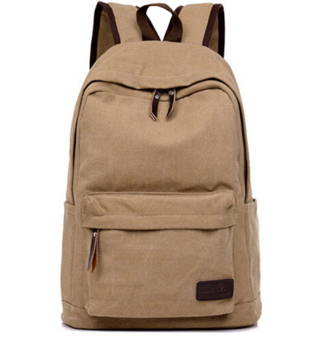 72c1ca7f28c9 2017 Vintage Men Canvas Backpack Fashion School Satchel Bags Casual ...