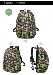 2017 Luxury Harajuku Colorful Galaxy unisex Backpack Female Teenage Girl School Bag Bagpack Mochila Camouflage one size