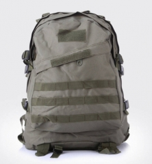 Men's Out door Canvas Backpack Big capacity Military Tacti cal Backpacks Camouflage bag Travel Bag ACU camouflage one size