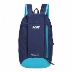 Casual Women Small Canvas Backpacks 2017 Portable Men Women School Backpacks dark blue one size