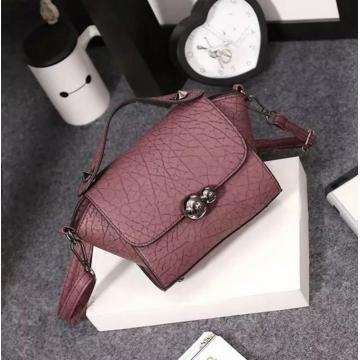 New Lady Women Handbag Shoulder Bags Tote Purse Satchel Wome Burgundy one size