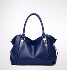 Women Handbag Female PU Leather Bags Handbags Ladies Portable Shoulder Bag Office Ladies Bag Totes black one size