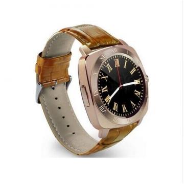 Smartwatch X3 Smart Watch Bluetooth Camera SIM Watch Phone Pedometer Clock Wristwatch gold