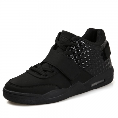 Large Size Board Shoes Supras Men's Sport School High Shoes black 42