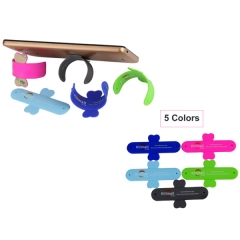 Kilimall Silicone Stand Holder Stander For Smart Phones Portable Cell Phone Mounts Gray N/A N/A