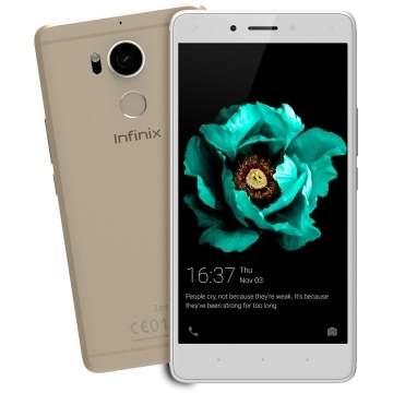 "Infinix Zero 4: 5.5"", 3GB RAM, Octa-Core, 16MP Camera, 4G, Dual SIM, 32GB ROM champagne gold"