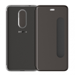 Infinix  Smart  Cover Smart  Case Cover   for Infinx  S2 Black one size