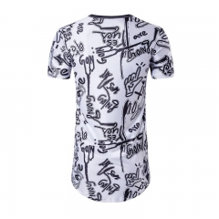 Men's Casual T shirt Men Beach Style Summer Short Sleeve Tee Tops Leisure 3D Hawaiian T shirt Homme as the picture s