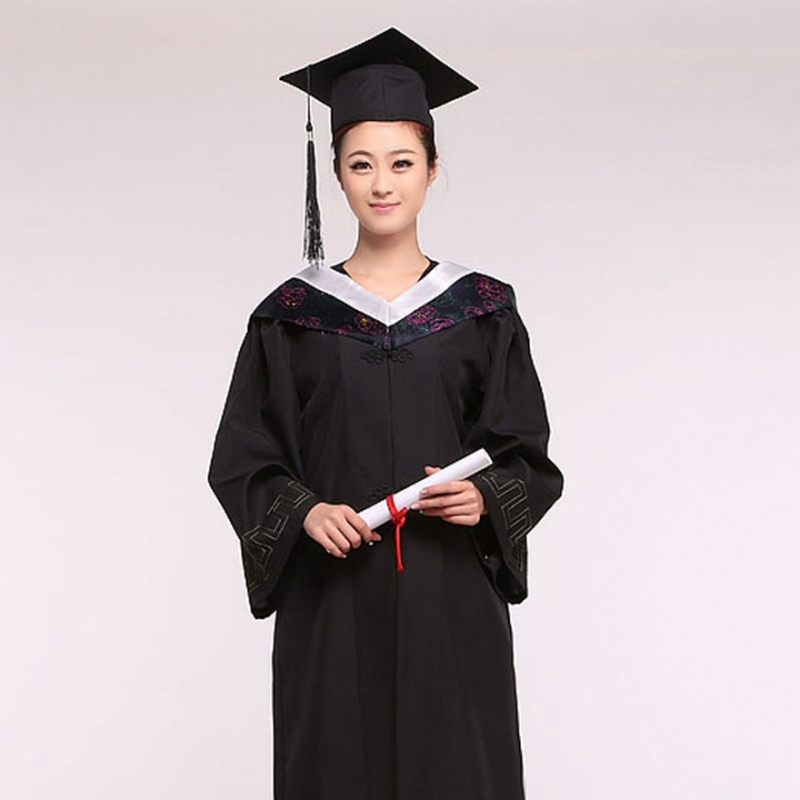 Graduation Gown Cap Tassel for boys or girls white s 284819 | Kilimall