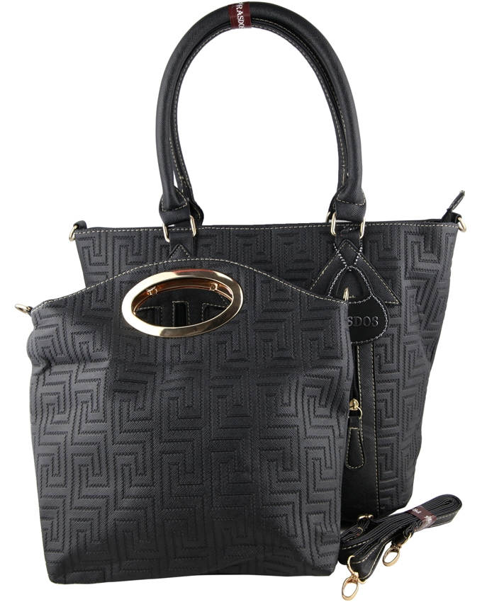 Prasdos Prasdos 2 In 1 Leather Aztec Print Handbag with Detachable ... 532dbdf7e28f2