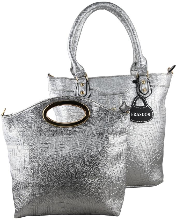 Prasdos 2 In 1 Aztec Print Leather Tote Handbag with Detachable ... 7067d63b3edd3