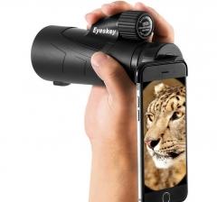 Eyeskey Portable Waterproof  Telescope Wildlife Watching Spotting Scopes Support Phone