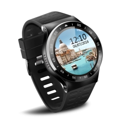 Zgpax Android 5.1 Touch Screen Smart Watch Phone With Bluetooth WiFi Camera SIM GPS Install App black