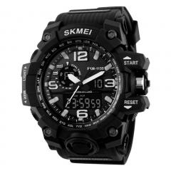 Sports Watches LED Military Waterproof Wristwatch Fashion Sport  Men's Quartz Analog Digital Watch black