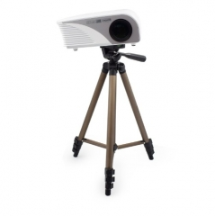 Aluminum Projector Bracket Flexible Camcorder Tripod Projector Stand Holder Mount gold 42cm