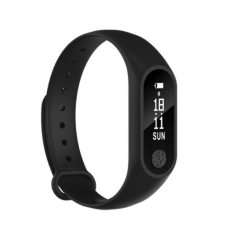 M2 Smart Watch Waterproof Heart Rate Monitor Bluetooth Sport Smart Band Bracelet Pedometer black