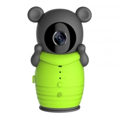 Smart Home CCTV Wifi IP Network Camera Wireless Remote Kids Baby Monitor P2P Night Vision Intercom Green 10cm*4cm