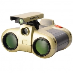 4 x 30  TeleScope Binoculars with POP Up Light Telescope Toy Gift for Children Kids