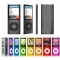 High Quality MP4 Music Player 30Hours Playing Time With FM Radio black