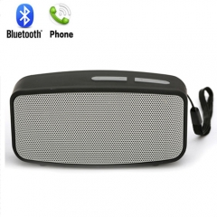 Mini But Sound Bluetooth  Stereo Speaker,TF card speaker grey portable