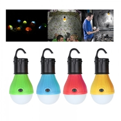 Portable Emergency Camping Tent Soft Light--Outdoor Hanging SOS 3 LED Lanters Bulb