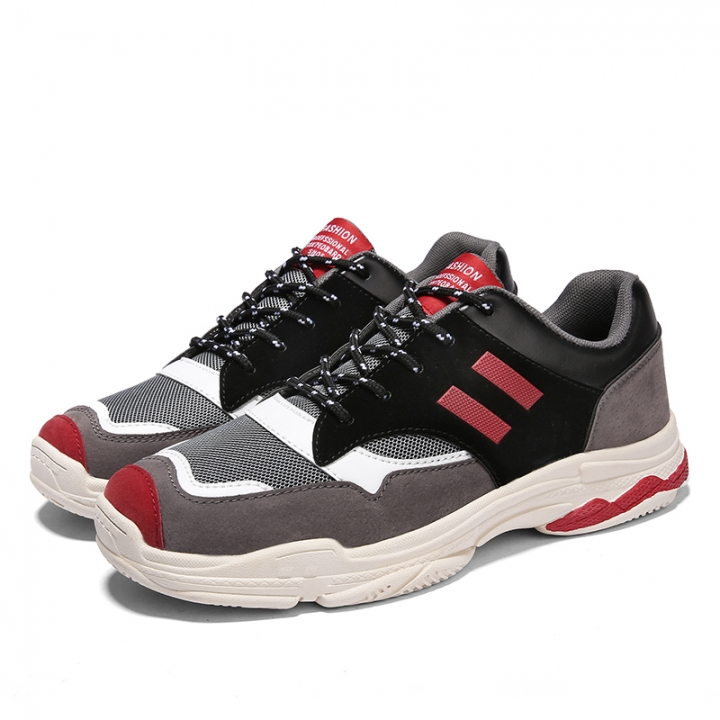14648f067bb59 2018 New Running Shoes Non Slip Damping Walking Shoes Stylist Cool Handsome  Nice Sports Shoes red