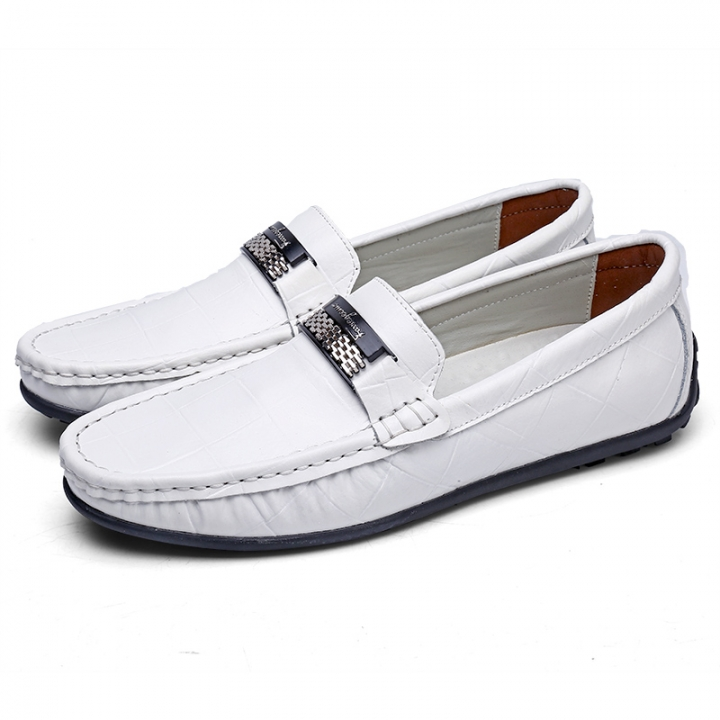 New Men s Loafers High Quality Leather Man Driving Shoes Casual Moccasins  Male Flats Slip On Shoe 07175732d5f