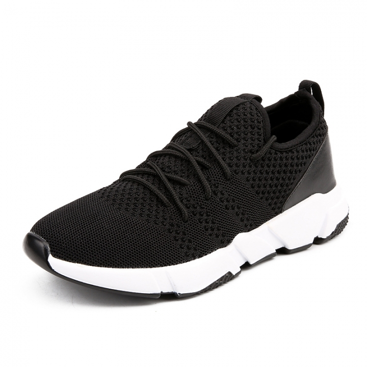 4af7cbb734cf1 Cool Design Shark Men Sports Shoes Trendy Running Lightweight Sports Knitted  Sneakers High Quality white 43