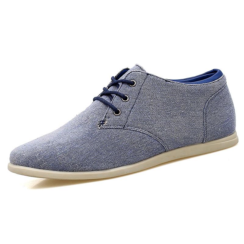 f097766d64df5c Vintage Old Fashion Canvas Shoes For Men Comfortable Denim Jeans Shoes Slip  On Casual Flats Oxfords blue 39: Product No: 374176. Item specifics: Brand: