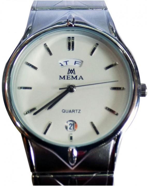 f17391fdd12 Mema Stainless Steel Analog Wrist Watch - Silver 66413
