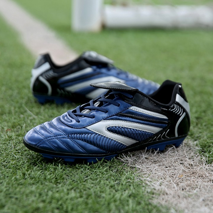 New student training long nail plate soccer shoes 26001_26002_ blue 43