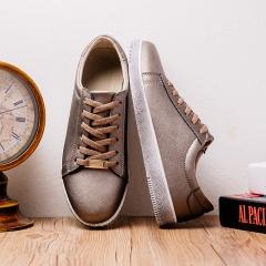 Men's fashion retro to do the old shoes 6506 white 42