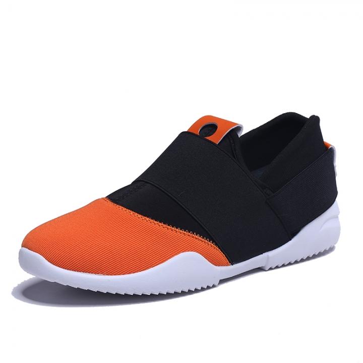 New men's fashion shoes breathable shoes casual shoes sneaker y3 orange 41