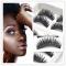 5 Pairs/Set Cross Thick Hard Root False Eye Lashes Extension Natural FalseEyelashes black