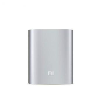 Mi Power Bank 10400mAh USB Ports Minisize Silver silver 10400