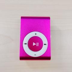 Mini Digital Portable Music MP3 Player Micro TF Card pink