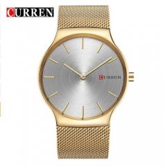 CURREN8256 new black rose gold Pointer Luxury Brand Analog sports Wristwatch Quartz Business Watch rose gold black