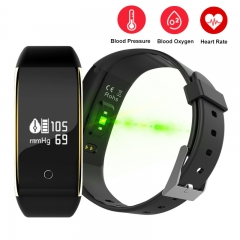 V9 Bluetooth Smartwatch Sport IP67 Waterproof Smart Watch Heart Rate Smart Bracelet for Android IOS black