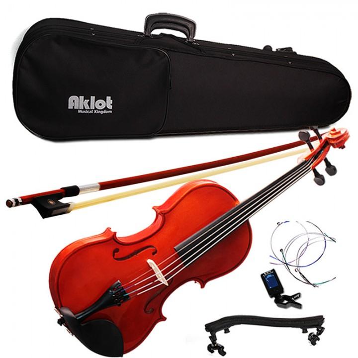 Cased String Acoustic Violin Size 4/4