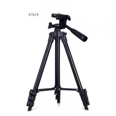 Mobile Phone Camera Three Feet Frame Self-timer Photography PTZ Fold Stent black